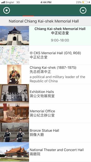Travel Guide App   Paris, Tokyo, Bangkok, Singapore, Taipei